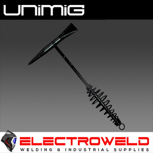 UNIMIG CHIPPING HAMMER, WELDING - SPRING HANDLE